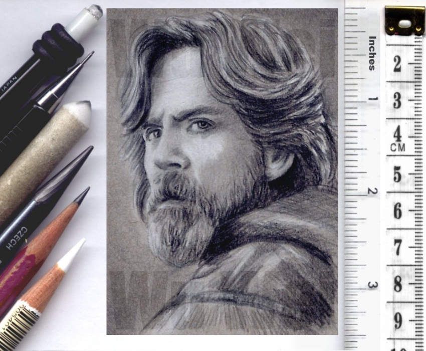 Mark Hamill by wu-wei